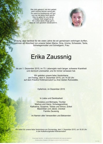 Erika Zaussnig