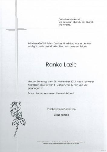 Ranko Lazic