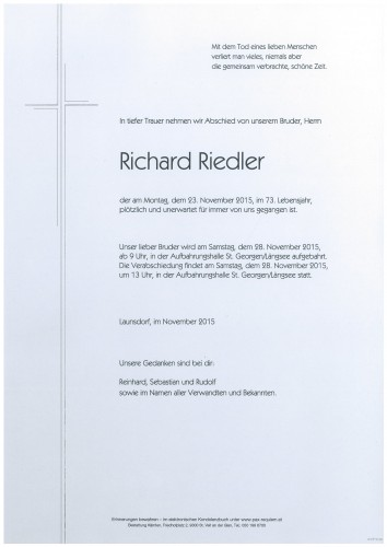 Richard Riedler