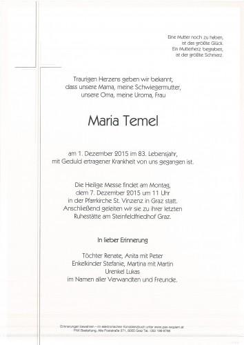 Maria Temel