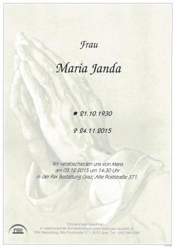 Maria Janda