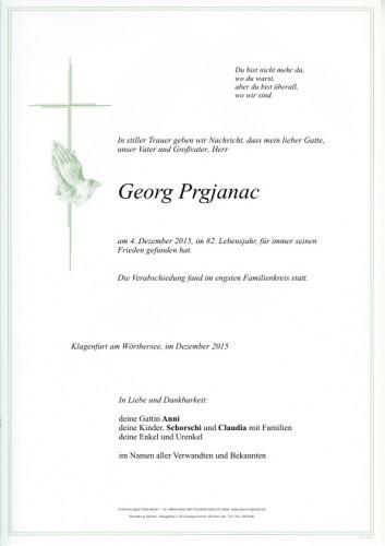 Georg Prgjanac