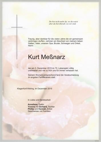 Kurt Meßnarz