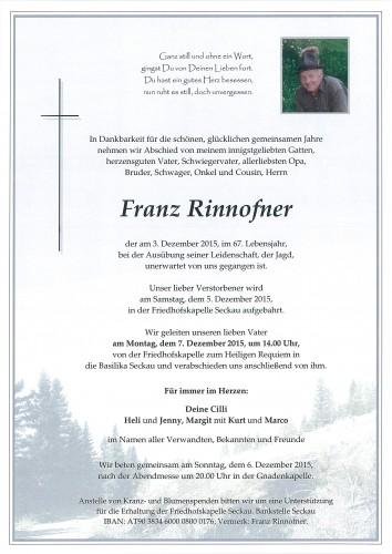 Franz Rinnofner