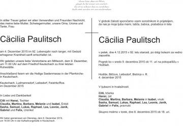 Cäcilia Paulitsch
