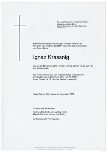 Ignaz Krassnig