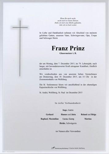 Franz Prinz