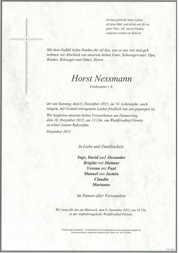 Horst Nessmann