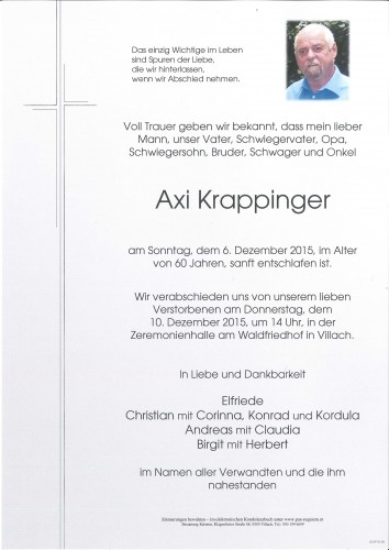 Axi Krappinger