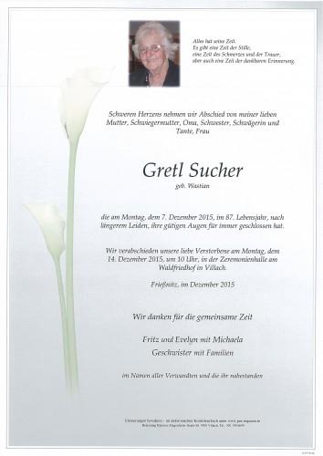 Gretl Sucher