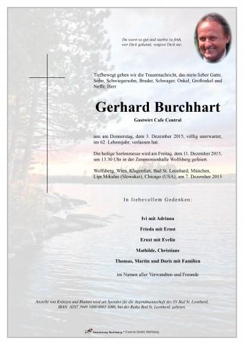 Gerhard Burchhart