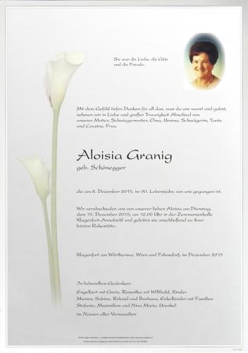 Aloisia Granig