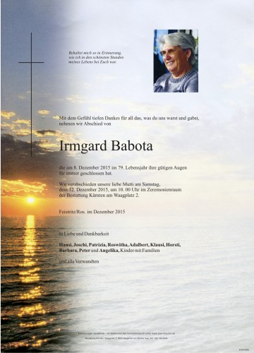 Irmgard Babota