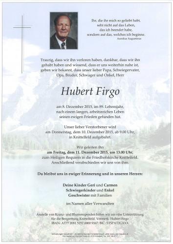 Hubert Firgo