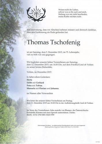 Thomas Tschofenig