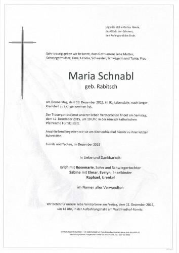 Maria Schnabl