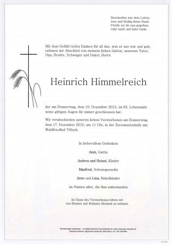 Heinrich Himmelreich