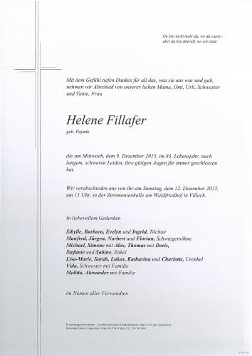 Helene Fillafer