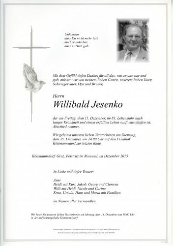 Willibald Jesenko