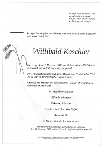 Willibald Koschier