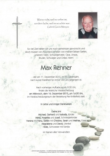Max Renner