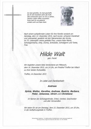 Hildegard Walt