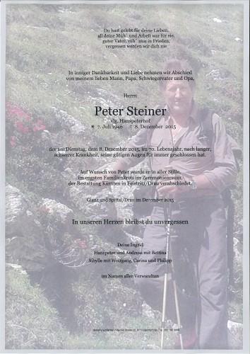 Peter Hans Steiner
