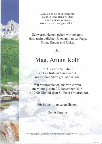 Armin Kolli