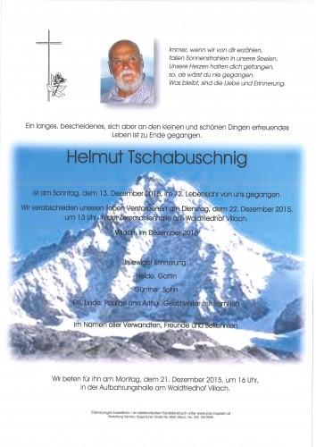Helmut Tschabuschnig