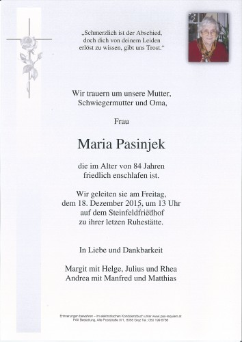 Maria Pasinjek