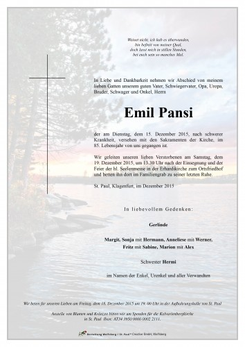 Emil Pansi