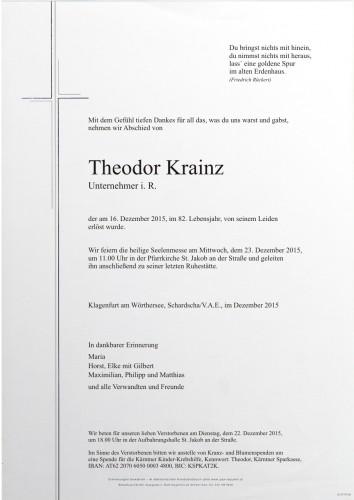 Theodor Krainz