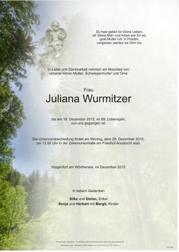 Juliana Wurmitzer
