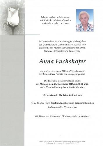 Anna Fuchshofer