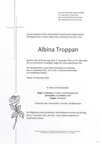 Albina Troppan