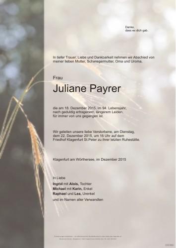 Juliane Payrer