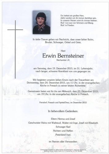 Erwin Bernsteiner