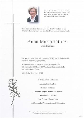 Anna Maria Jüttner