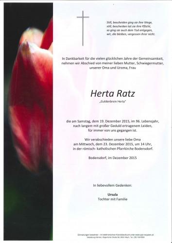 Herta Ratz