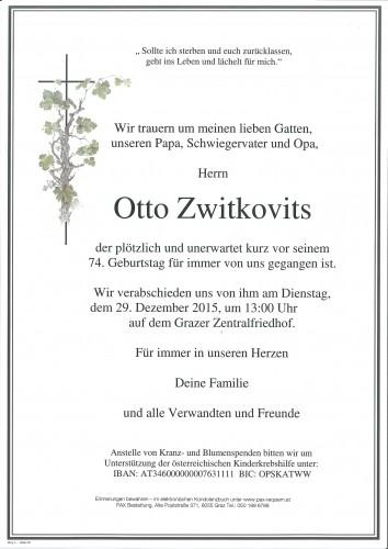Otto Zwitkovits