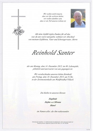 Reinhold Santer