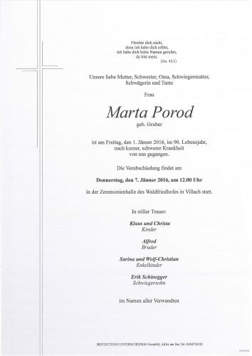 Marta Porod