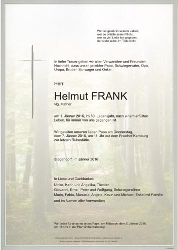 Helmut FRANK