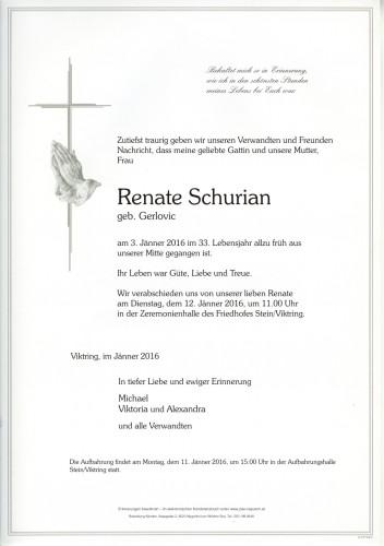 Renate Schurian
