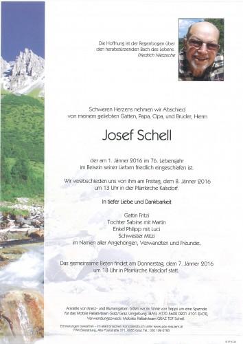 Josef Schell
