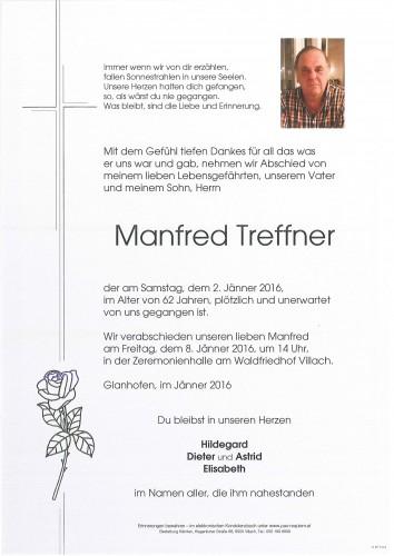 Manfred Treffner