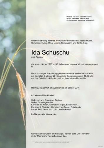 Ida Schuschu
