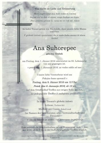 Ana Suhorepec