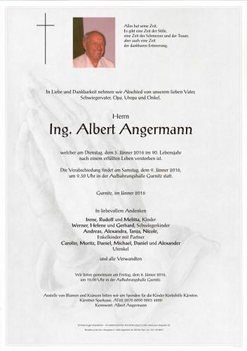 Ing. Albert Angermann