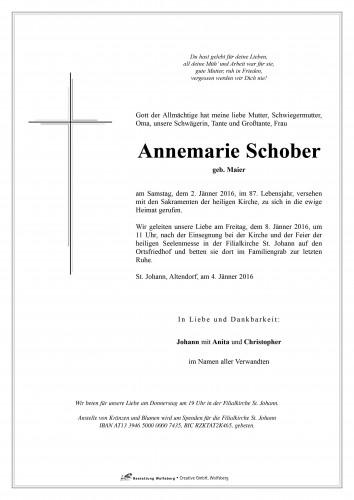 Annemarie Schober